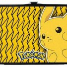 Pokemon Pikachu Electric w/ Lightning Bolts Yellow Lady Bi-Fold Hinge Wallet