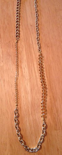 Light Topaz Crystal and Gold Linked Necklace