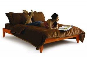 Winchester full size platform bed