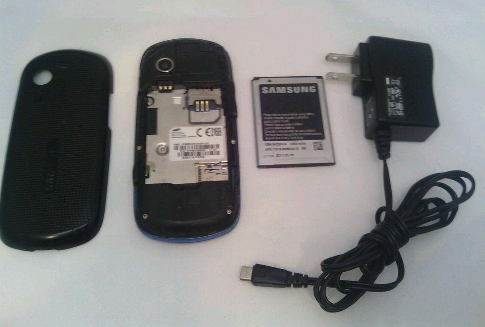 SAMSUNG SGH T479 GRAVITY 3**GSM**BLUE T-MOBILE CELL PHONE*PASSWORD LOCKED**AS IS
