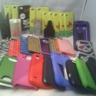 49 PC LOT*CASES, SCREEN PROTECTO*IPHONE BLACKBERRY KATE SPADE ANGRY BIRD HELLO K