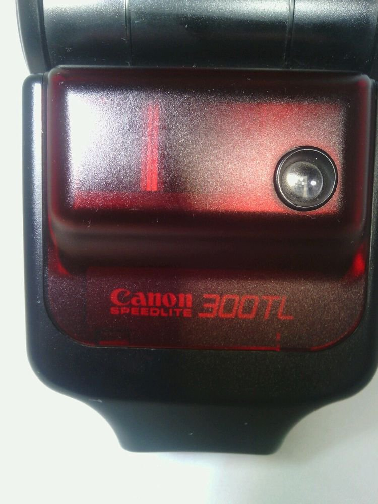 GWC**CANON SPEEDLITE 300TL SHOE MOUNT FLASH for  CANON