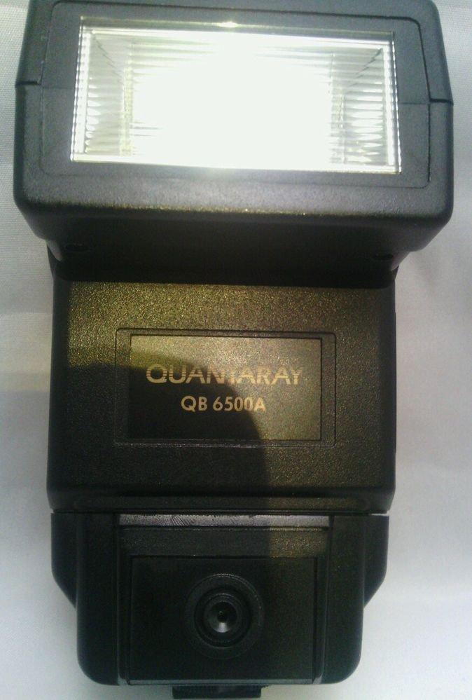 GWC**QUANTARAY QB-6500A SHOE MOUNT FLASH