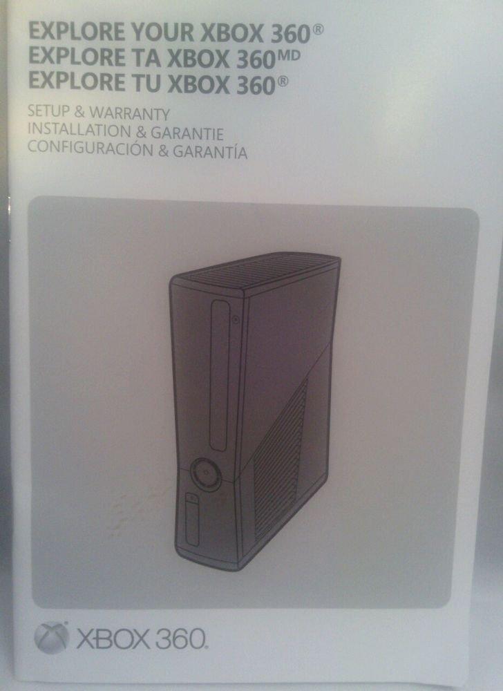 VGC**EXPLORE YOUR MICROSOFT XBOX 360 SET-UP GUIDE**ENGLISH FRANCAIS ESPANOL