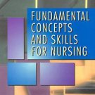 GC**FUNDAMENTAL CONCEPTS & SKILLS for NURSING by SUSAN C. DEWIT 2000 Paperback