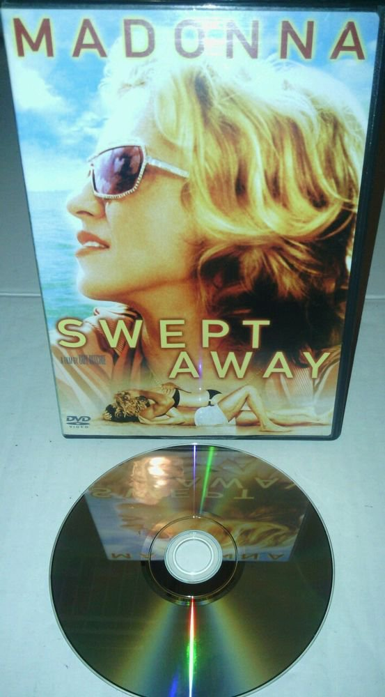 GWC**SWEPT AWAY (DVD, 2003)featuring MADONNA