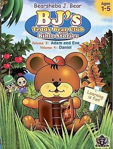 ACC**BJ's Teddy Bear Club and Bible Stories: Volume 3 & 4 (DVD, 2006)