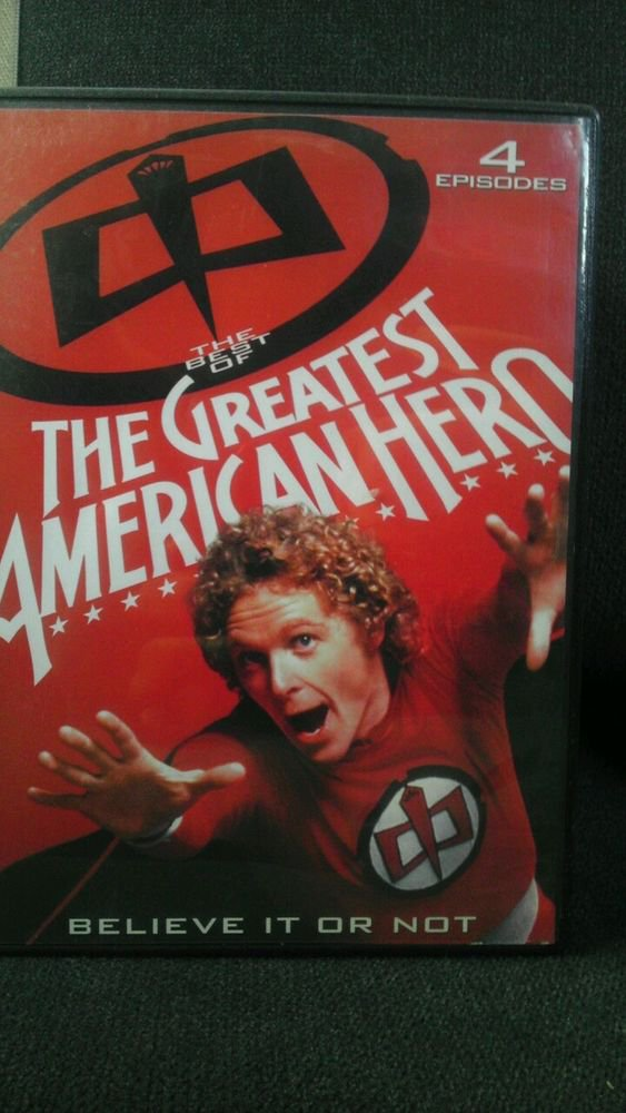 ALN/VGC**THE GREATEST AMERICAN HERO** BELIEVE IT OR NOT (DVD)**WILLIAM KATT