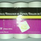 "NEW**NCR PAPER ROLLS**CASH REGISTERS & ADDING MACHINES**10 ROLLS **2 3/4""x 128'"