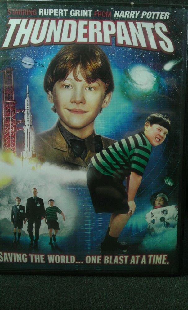 ALN/VGC**THUNDERPANTS (DVD, 2007)**Starring RUPERT GRINT from HARRY POTTER