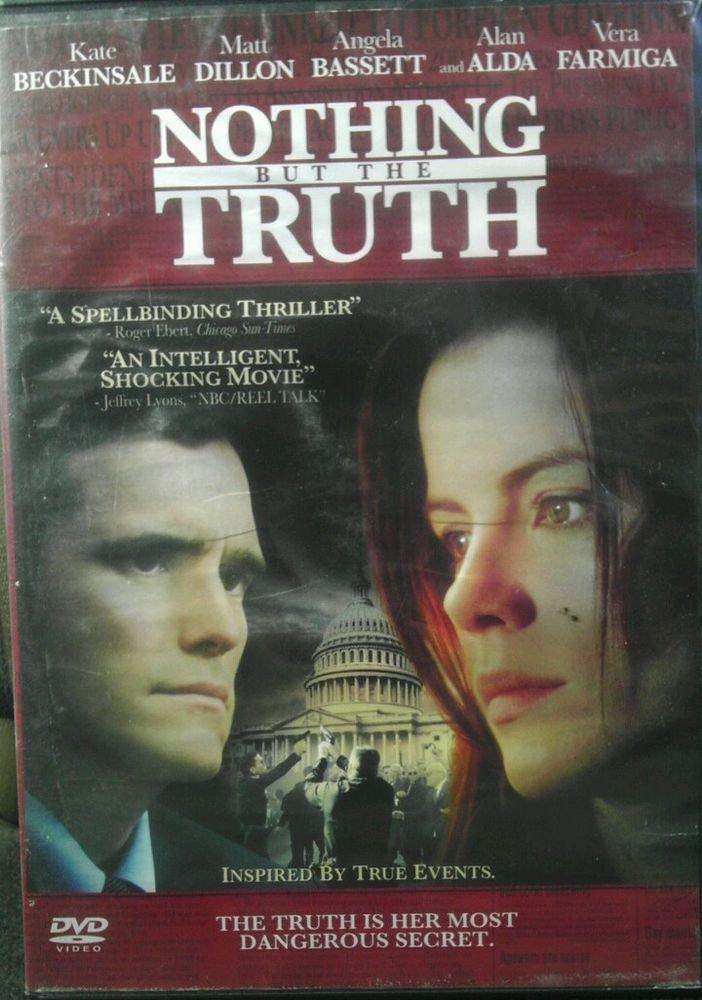 GC*NOTHING BUT THE TRUTH (DVD, 2009)*KATE BECKINSALE from UNDERWORLD*MATT DILLON