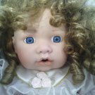 GC**PORCELAIN ANGEL**WHITE & GOLD**16' LENGTH