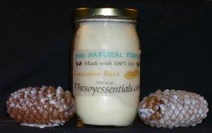 16 oz Soy Candles - Warm Cinnamon Buns