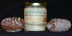 9 oz Soy Candle - Fresh Baked Bread