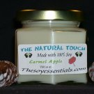 4 oz Soy Candle - Carmel Apple