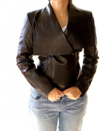 NWT Women's Blazer Evolution Leather Jacket Style F-S1