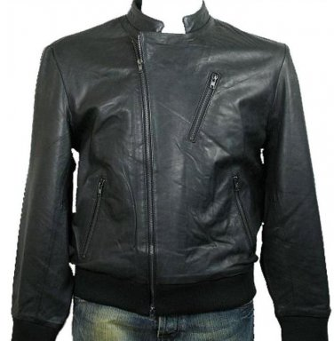 Men's Motor Bike Leather Jacket Style M76