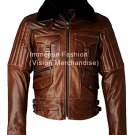 Men's Falcon Bomber Leather Jacket Style MD-102