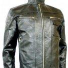 NWT Men's Vinatage Inspired Bomber Leather Jacket Style M5