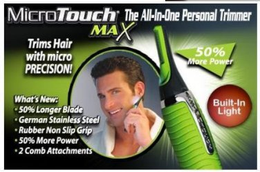 Micro Touch Max, All-in-one Trimmer, Personal Trimmer