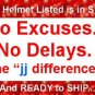 HCI DOT GERMAN MOTORCYCLE HELMET EXTRA LARGE CHROME NEW 2009