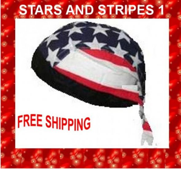 Danna Head Wrap Amazing Danna STARS N STRIPES 1 NWT $3.95 FREE SHIPPING