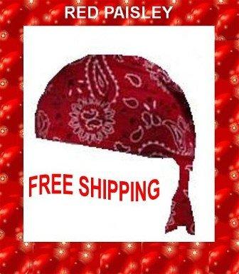 Danna Head Wrap Danna Red Paisley NWT $3.95FREE SHIPPING SKD