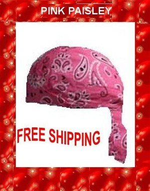 Danna Head Wrap Danna Light Pink Paisley NWT $3.95 FREES SHIPPING SKD