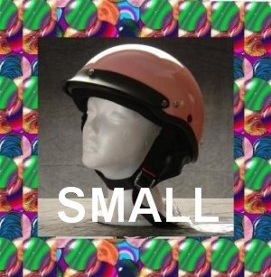 HCI LIGHTEST DOT MOTORCYCLE HELMET PINK SMALL NEW 2009