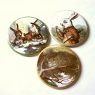 "2.25"" Alice in Wonderland Magnets or Mirrors Mad Hatter"