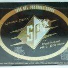 1996 - Upper Deck - SPX - NFL Football - Trading Cards