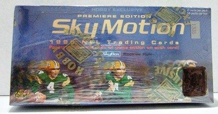 1996 - Skybox - Sky Motion - NFL Football - Trading Cards