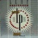 1996 - Donruss - Leaf - Preferred - Baseball - Sports Card Box