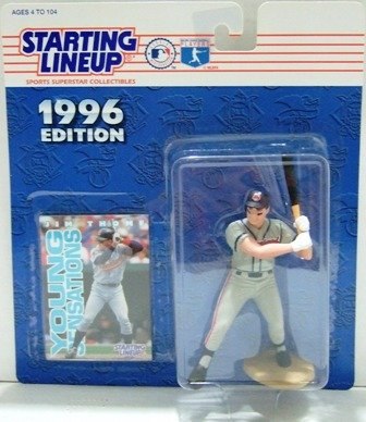 1996 - Jim Thome - Action Figures - Starting Lineups - Baseball - Indians - Rookie Slu