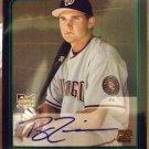 2006 - Ryan Zimmerman - Topps - Bowman - Baseball - Cerified - Autographed - Rookie Card