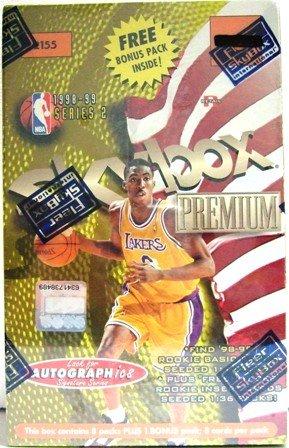 1998/99 - Skybox - Premium - NBA Basketball - Series 2 - Basketball - Trading Cards