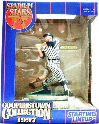 1997 - Mickey Mantle - Starting Lineups - Cooperstown - Stadium Stars -Baseball - Yankees