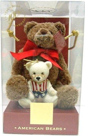 100th Year Anniversary - Lenox - Limited Edition - American Bears - Teddy Bear Set
