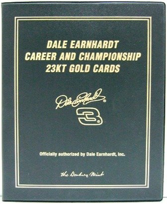 Dale Earnhardt -  23KT Gold - Collectible - Racing - Cards Set