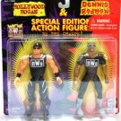 1997 Hollywood Hulk Hogan & Dennis Rodman - Action Figures - Wrestling