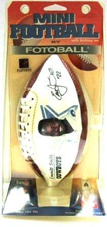 1996 - Emmitt Smith - Superbowl - Dallas Cowboys - Mini Fotoball Football
