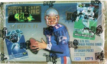 1995 - Classic -  Proline - NFL Football - Phone Cards Series 2