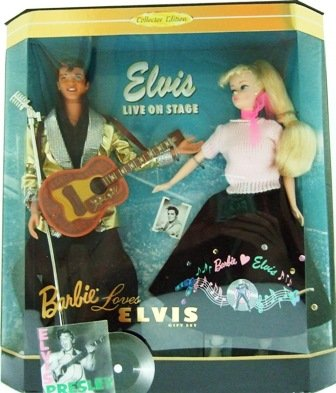1996 Barbie Loves Elvis Gift Set Collectors Edition