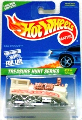 1997 - Rail Rodder - Hot Wheels - Treasure Hunts - #12 of 12