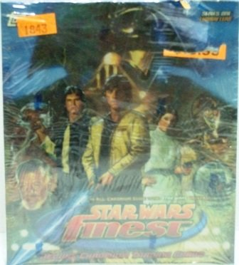 1996 Topps Finest - Star Wars  (Series One) Non - Sports Trading Cards