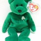 Ty - The Original - Beanie Baby - Erin - Green Bear - Plush Toys