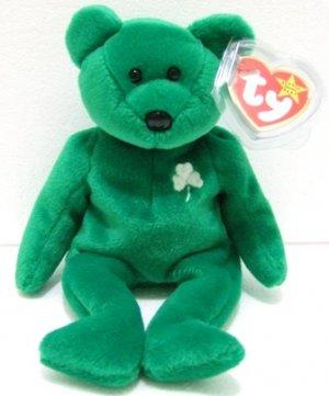 a45ffa0decc Ty - The Original - Beanie Baby - Erin - Green Bear - Plush Toys