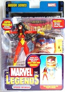 2006 - Spider-Woman - Action Figures - Toy Biz - Marvel Legends