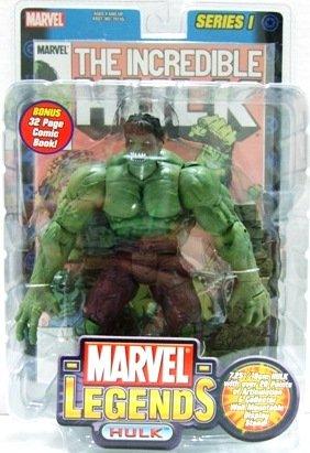 2002 - Incredible Hulk - Action Figures - Toy Biz - Marvel Legends