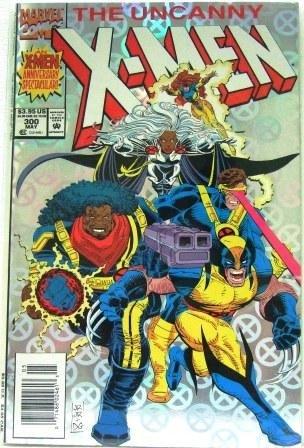 1993 - Marvel - The Uncanny - X-Men - Anniversary Edition #300th Issue - Comic Books